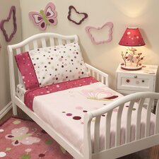 Raspberry Swirl Toddler Bedding Collection