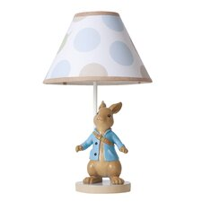 "Peter Rabbit 16"" H Table Lamp with Empire Shade"