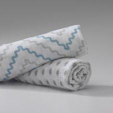 Ryan 2 Piece Muslin Swaddle Blanket