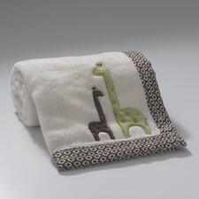 Giraffe Appliqued Blanket