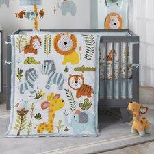 Dena Happi Jungle 4 PieceCrib Bedding Set