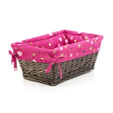 Raspberry Swirl Basket with Liner