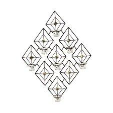 Diamond Gem 7 Tea Light Sconce