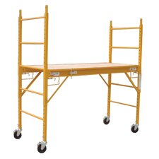 "UST 6.25' H x 12""W x 73"" D Steel Multi-Purpose Scaffolding with 375 lb. Load Capacity Type 2A Duty Rating"