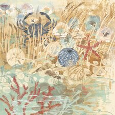 Floral Frenzy Coastal II Painting Print on Wrapped Canvas
