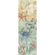 Floral Frenzy Coastal VII Painting Print on Wrapped Canvas