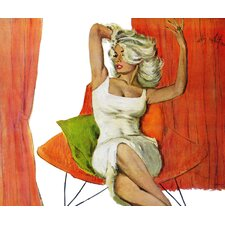 Mother is a Movie Queen by Coby Whitmore Painting Print on Wrapped Canvas