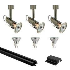 Mini Deco Series 3 Light Low Track Light Kit