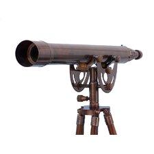 Anchor Floor Standing Antique Copper Master Telescope