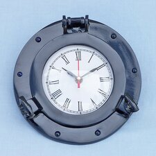 """8 """" Deluxe Class Porthole Wall Clock"""