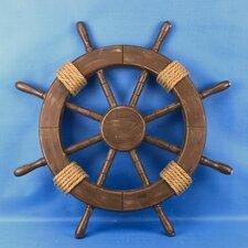 Rustic Ship Wheel Wall Décor