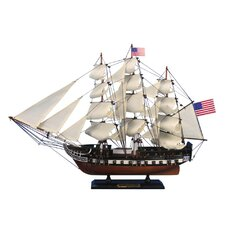 USS Constitution Tall Model Yacht