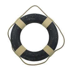 Vintage Decorative Life Ring Wall Décor