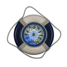 Antique Decorative Life Ring 15'' Clock