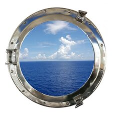 Deluxe Class Porthole Window Wall Décor