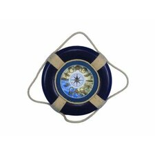 "20"" Decorative Life Ring Wall Plaque Wall Décor"