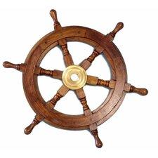 Deluxe Class Ship Wheel Wall Décor