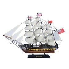 Wooden HMS Surprise Master and Commander Model Ship