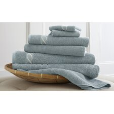 Spa Egyptian Cotton Embroidered Chain 6 Piece Towel Set