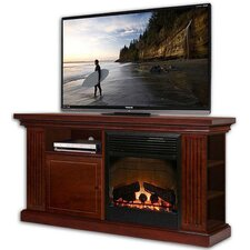 Yorkshire TV Stand with Electric Fireplace