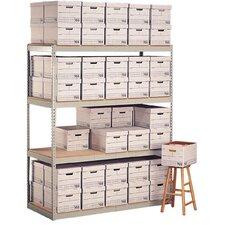 Record Storage 3 Shelf Shelving Unit Starter