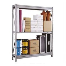 Wide Span 2 Shelf Shelving Unit Starter