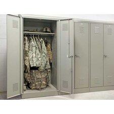 """Patriot Welded Double Door Gear Locker with 21"""" Shelf"""