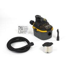 4 Gallon 5.0 Peak HP Portable Wet / Dry Vacuum