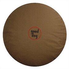 """Good Dog"" Logo Round Dog Pillow"