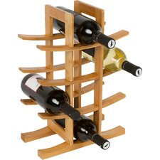 12 Bottle Table Top Wine Rack