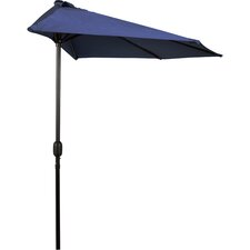 9' Patio Half Umbrella