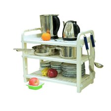 3 Shelf Dish and Cookware Rack