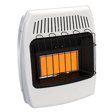 18,000 BTU Wall Mounted Natural Gas Manual Vent-Free Heater