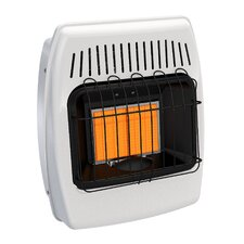 12,000 BTU Wall Mounted Natural Gas Manual Vent-Free Heater