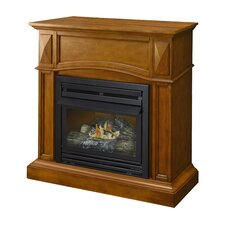 Compact Vent-Free Dual Fuel Gas Fireplace