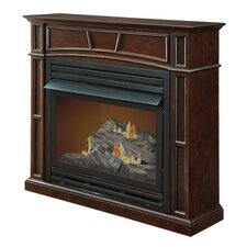 Full-Size Vent-Free Dual Fuel Gas Fireplace