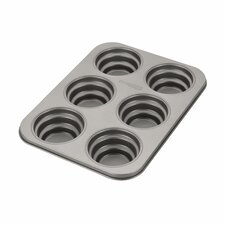 Novelty 6 Cup Round Cakelette Pan