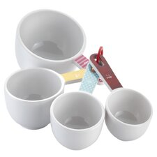 4 Piece Countertop Melamine Measuring Cup Set
