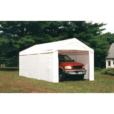 Super Max 10 Ft. W x 20 Ft. D Vehicle Ports
