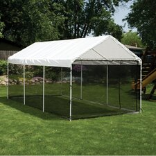 Screen 10 Ft. W x 20 Ft. D Canopy Kit