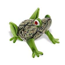 Art Glass Frog Figurine
