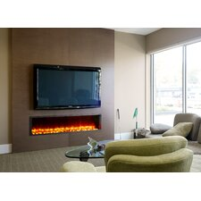 """63"""" Built-in LED Electric Fireplace"""