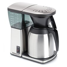 8 Cup Coffee Maker with Stainless Steel Lined Carafe