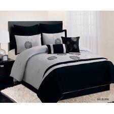 Milburn 8 Piece Comforter Set