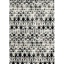 Palette White/Black Scan Area Rug