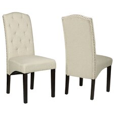 Alessa Camelback Parsons Chair (Set of 2)