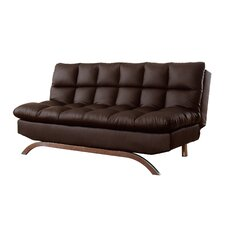 Lugo Plush Futon Sleeper Sofa