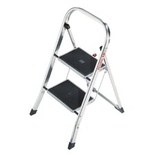 K30 2-Step Aluminum Step Stool with 330 lb. Load Capacity