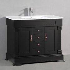 "Classic 40"" Single Bathroom Vanity Set"