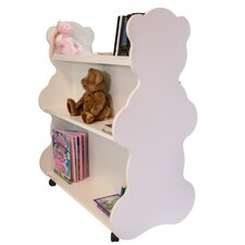 "Bear Mobile Double Sided 41.5"" Bookcase"